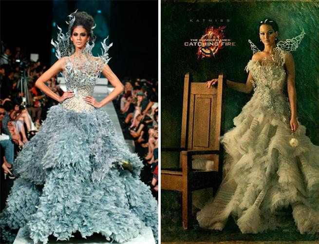 Meet Tex Saverio The Designer Of Katnisss Wedding Dress In The