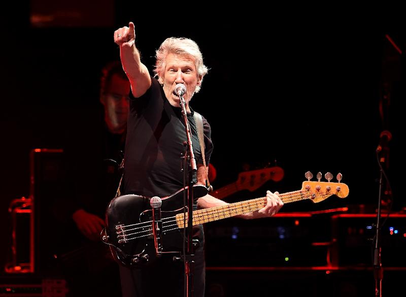 Musicians performing in Israel are often put under pressure to boycott from activists, with Pink Floyd's Roger Waters (pictured) a major campaigner against such trips (AFP Photo/Kevin Winter)