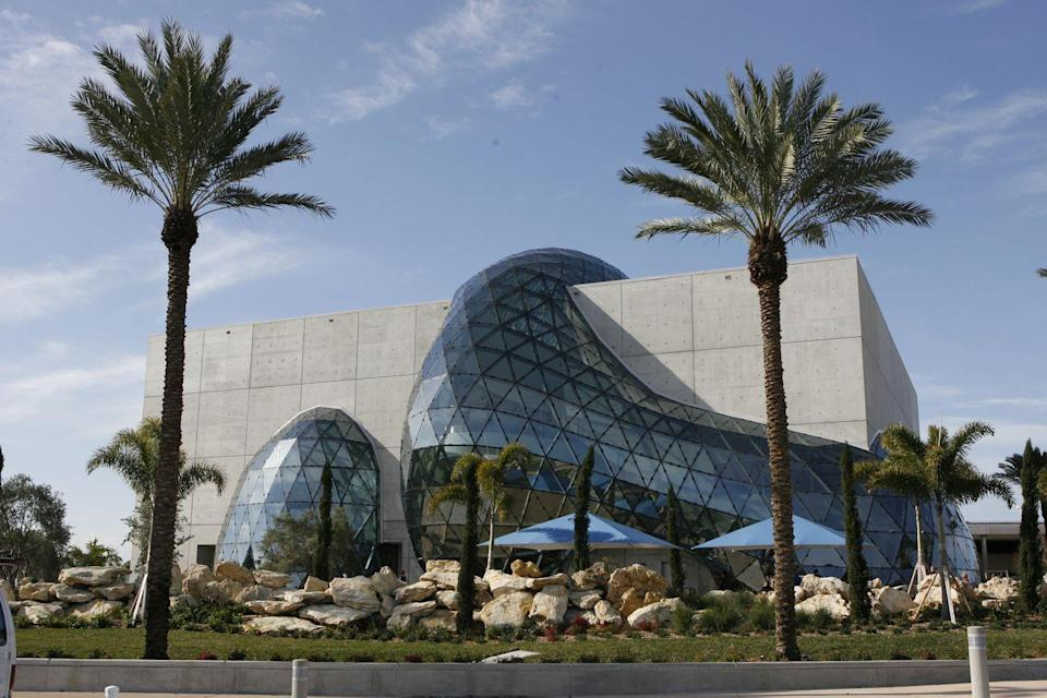 "<p><a href=""https://thedali.org/"" rel=""nofollow noopener"" target=""_blank"" data-ylk=""slk:The Dali Museum"" class=""link rapid-noclick-resp"">The Dali Museum </a></p><p>This St. Petersburg museum has captured the spirt of the famous and bizarre artist, with from the quirky sculptural design that shapes the space to a garden filled with melting benches. They also have rotating exhibitions on other famed artists that were contemporaries of Dali's like Diego Rivera and Frida Kahlo. <br></p>"