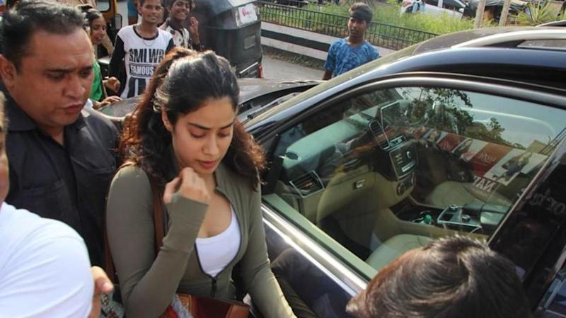 Janhvi Kapoor is already a star. Here