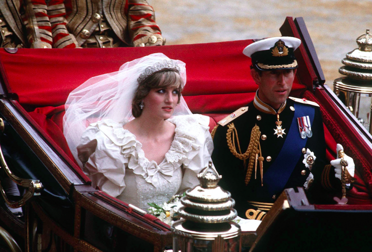 Diana and Charles were married in July 1981 (Picture: PA