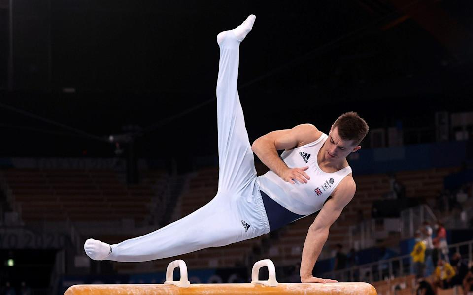 Max Whitlock goes for gold - SHUTTERSTOCK