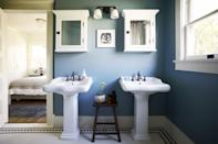"""<p>Nobody enjoys getting a leak in their home, but it's better to be proactive about searching for them than to be surprised when they arrive. According to <strong>National Geographic</strong>, an average of <a href=""""https://www.nationalgeographic.com/environment/article/water-conservation-tips"""" class=""""link rapid-noclick-resp"""" rel=""""nofollow noopener"""" target=""""_blank"""" data-ylk=""""slk:10 gallons of water per day"""">10 gallons of water per day</a> is lost to leaks, so be sure to regularly check your toilets, faucets, washing machine hookups, and showers every month to get ahead of any issues.</p>"""