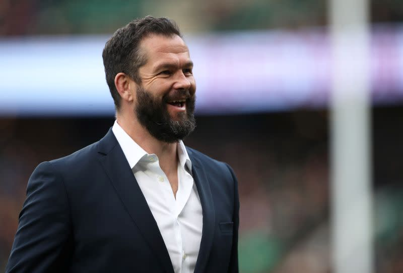 Bigger things than finishing Six Nations says Ireland's Farrell