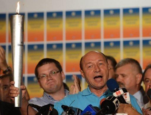 Romanian President Traian Basescu has escaped impeachment