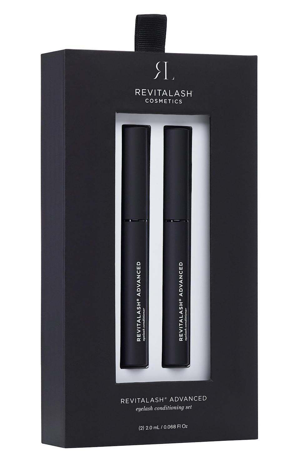 """<p><strong>RevitaLash ADVANCED </strong></p><p>nordstrom.com</p><p><a href=""""https://go.redirectingat.com?id=74968X1596630&url=https%3A%2F%2Fwww.nordstrom.com%2Fs%2Frevitalash-advanced-eyelash-conditioner-duo-196-value%2F5681619&sref=https%3A%2F%2Fwww.harpersbazaar.com%2Fbeauty%2Fg36991550%2Fnordstrom-anniversary-sale-beauty-deals%2F"""" rel=""""nofollow noopener"""" target=""""_blank"""" data-ylk=""""slk:Shop Now"""" class=""""link rapid-noclick-resp"""">Shop Now</a></p><p><strong>Sale: $98</strong></p><p><strong>Value: $196</strong></p><p>Used regularly, this blend of peptides, panthenol, and biotin work to soften, strengthen, and help grow eyelashes. One single tube normally costs $98, which essentially makes this deal a two-for-one steal.</p>"""