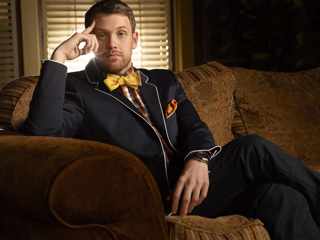 "Michael Arden stars as Patrick in ""Anger Management"" on FX."