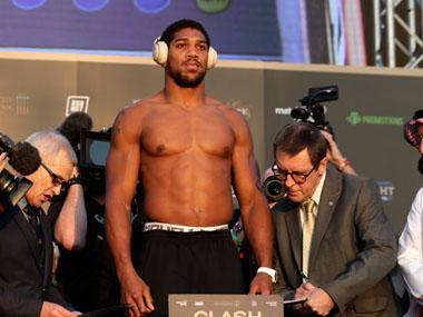 'London's calling', says Anthony Joshua who is likely to defend heavyweight titles at Tottenham's new stadium