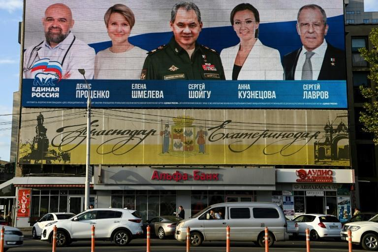 In an effort to rebrand ahead of polls, the United Russia party has put forward television personalities, sportsmen and an alleged spy as candidates (AFP/Kirill KUDRYAVTSEV)