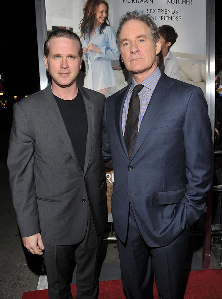 """<a href=""""http://movies.yahoo.com/movie/contributor/1800021065"""">Cary Elwes</a> and <a href=""""http://movies.yahoo.com/movie/contributor/1800018594"""">Kevin Kline</a> attend the Los Angeles premiere of <a href=""""http://movies.yahoo.com/movie/1810159162/info"""">No Strings Attached</a> on January 11, 2011."""