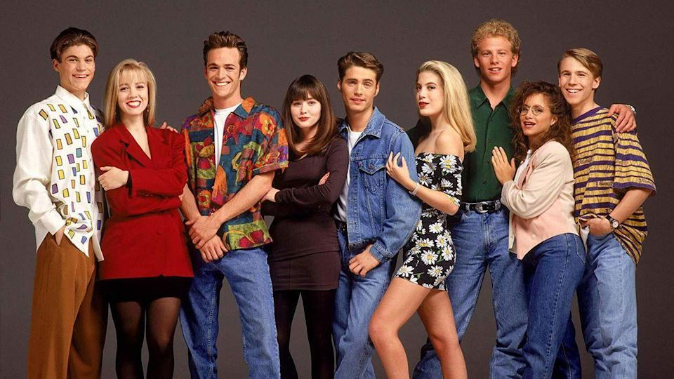 This hit Fox show is often credited with creating the teen soap genre.