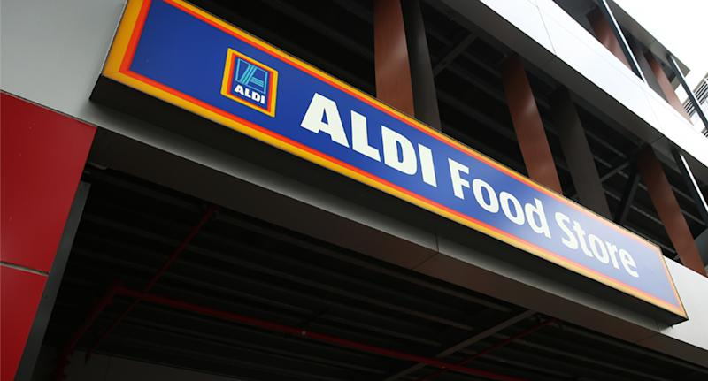 The shopper opened the problem packet of rice on Sunday evening after buying it from ALDI. Source: Getty Images