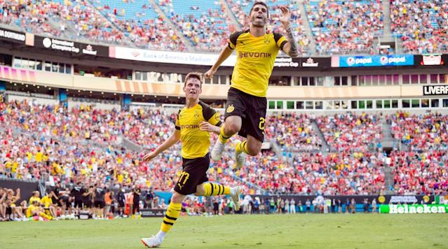 Christian Pulisic missed U.S. games against Brazil and Mexico, but he's ready to return to action with Borussia Dortmund.