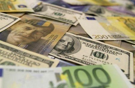 The dollar was lower on Wednesday.