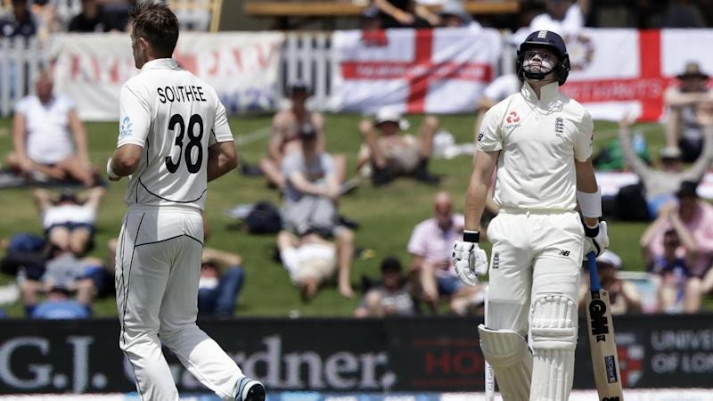 Tim Southee has led a New Zealand fightback on the second day of the first Test against England