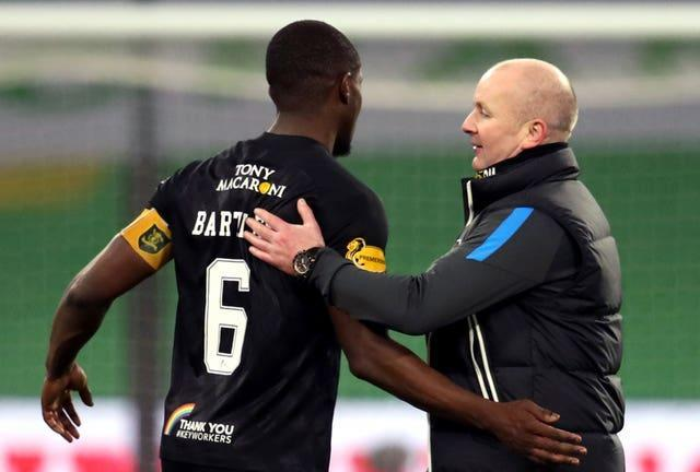 Bartley (left) will work under boss David Martindale (right)