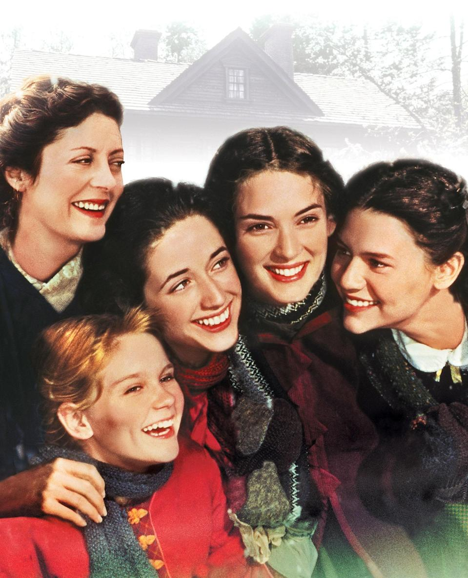 "<p>Before Saoirse Ronan, there was Winona Ryder. This '90s version of <em>Little Women</em> might be overshadowed by Greta Gerwig's equally brilliant update, but it still has a special place in my heart. This rendition is more sentimental, earnest, and true to Louisa May Alcott's original novel. Also, it always makes me ugly cry. If you need a good sob, I can't recommend it enough. — <em>MH</em></p> <p><a href=""https://www.amazon.com/gp/video/detail/amzn1.dv.gti.eaa9f793-a29a-0af5-2a1e-d77e0dd52f71?autoplay=1"" rel=""nofollow noopener"" target=""_blank"" data-ylk=""slk:Stream here"" class=""link rapid-noclick-resp""><em>Stream here</em></a></p>"