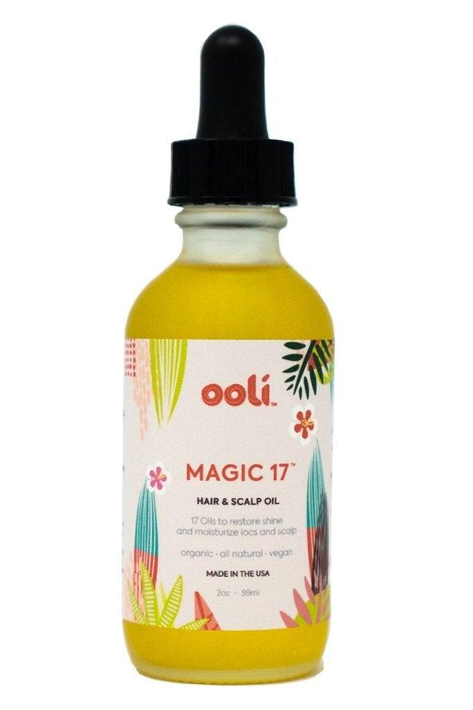 """<h3>Ooli</h3><br>You can trust that your locs are in good hands when using the cleansing and styling products from this small-batch indie brand. After nearly two decades of growth and maintenance, Jessica Pritchett founded the collection with her own locs experience in mind to help keep yours on point. Hair-oil devotees will love this concoction of 17 natural oils to moisturize, prevent thinning, and soothe a sensitive scalp — dry locs will soak it right up.<br><br><strong>OOLI</strong> MAGIC 17 Hair & Scalp Oil, $, available at <a href=""""https://go.skimresources.com/?id=30283X879131&url=https%3A%2F%2Foolibeauty.com%2Fcollections%2Fstyle%2Fproducts%2Fmagic-17-hair-scalp-oil%3Fvariant%3D21061354356794"""" rel=""""nofollow noopener"""" target=""""_blank"""" data-ylk=""""slk:OOLI"""" class=""""link rapid-noclick-resp"""">OOLI</a>"""