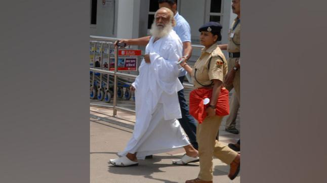 Asaram is accused of raping a minor girl from Uttar Pradesh. The alleged rape took place in August 2013 and Asaram was arrested in the case in September the year. He has been in jail ever since.