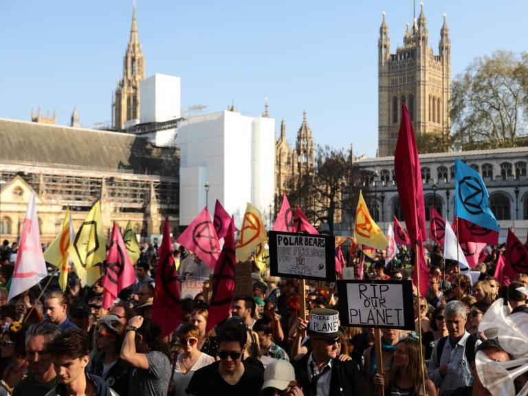 Extinction Rebellion protest: Police warn of 'robust' plan for Parliament Square demonstration