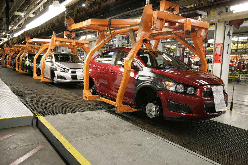 Tiny Chevy Sonic helped with GM comeback