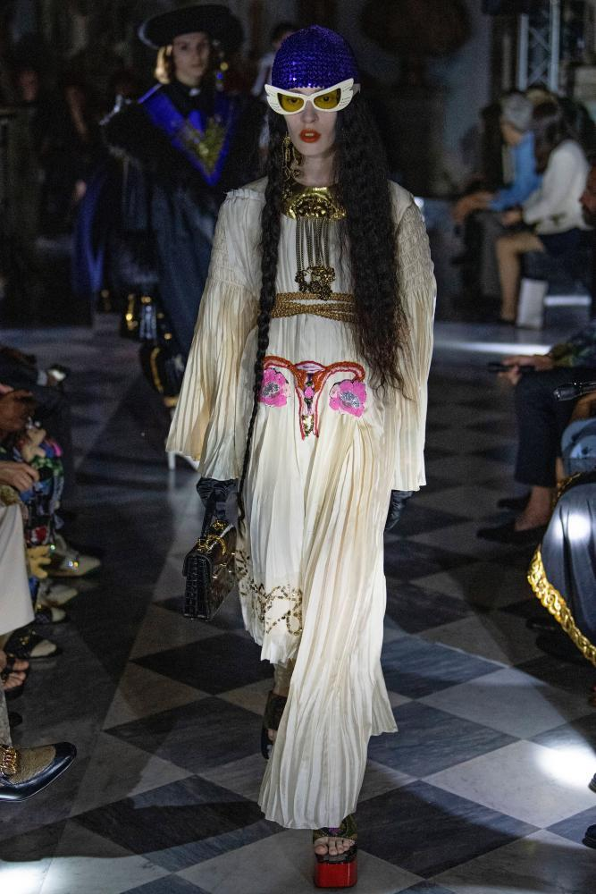 The standout piece of the latest Gucci collection
