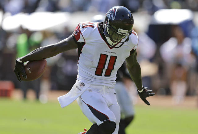 "It's no guarantee <a class=""link rapid-noclick-resp"" href=""/nfl/players/24793/"" data-ylk=""slk:Julio Jones"">Julio Jones</a>' touchdown total finally takes off in 2017. (AP)"