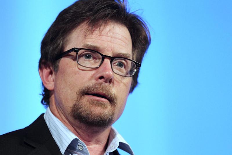 FILE - In this June 15, 2012 file photo, Michael J. Fox speaks at the Middlesex Community College Celebrity Forum in Lowell, Mass. Fox is planning a return to series TV and will star in a sitcom that's in development at Sony Pictures Television according to people familiar with the situation who spoke on condition of anonymity. (AP Photo/Michael Dwyer, file)