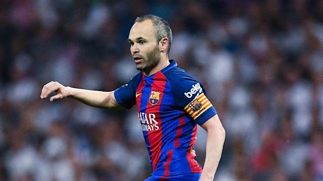 An adductor injury kept Andres Iniesta out against Espanyol, but he is set to be available when Barcelona take on Villarreal.