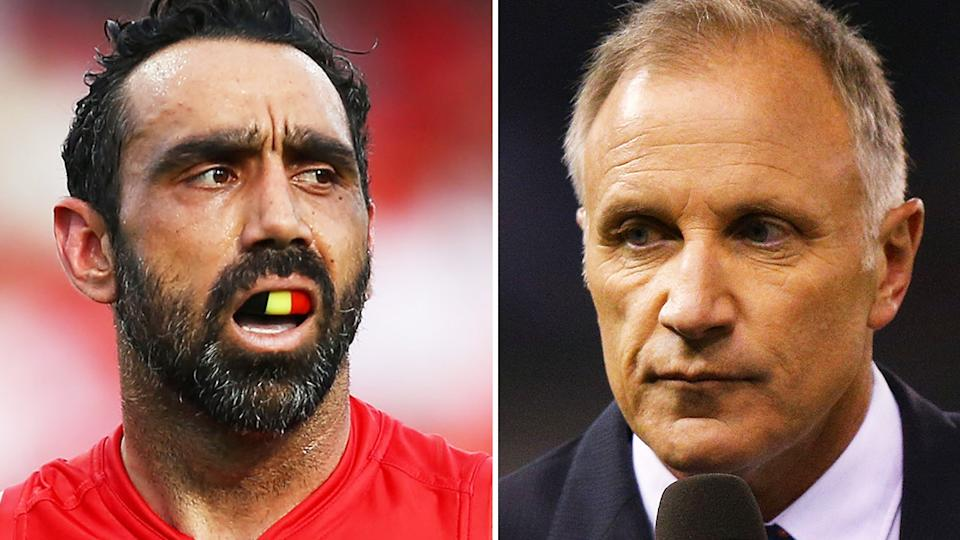 Adam Goodes' decision to decline his nomination for the AFL Hall of Fame surprised former star Tim Watson, but the Essendon great's reaction has prompted backlash among some fans. Pictures: Getty Images