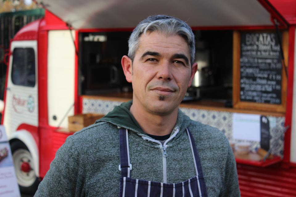 Guillermo Cobos, who runs Spanish food firm Azahar in Cambridge, said the city was too expensive to buy his own home. Photo: Yahoo Finance UK / Tom Belger