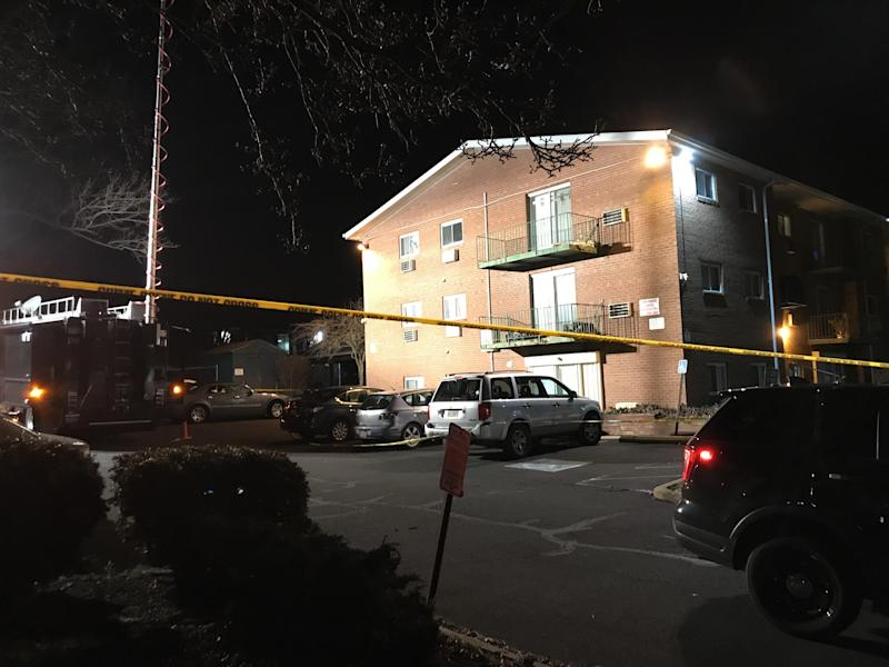 File - Authorities found the bodies of five of the family members of Shana Decree, 47, and her daughter Dominique Decree, 21, at Robert Morris Apartments on Feb. 25, 2019.