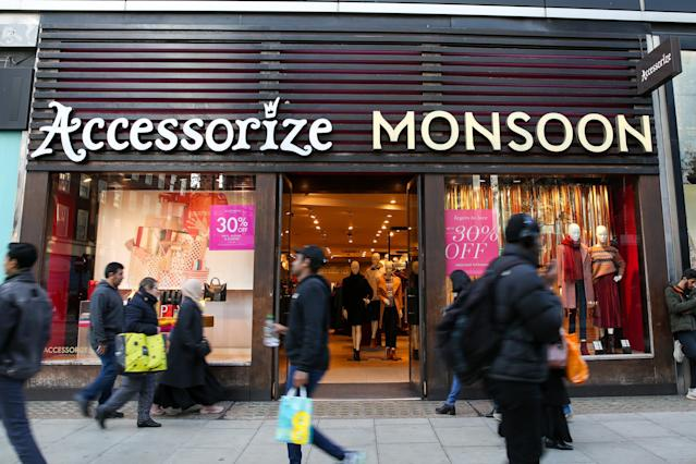 Monsoon Accessorize was almost immediately bought by Adena Brands, owned by Monsoon's founder Peter Simon, after falling into administration. (Dinendra Haria/SOPA Images/Sipa USA)