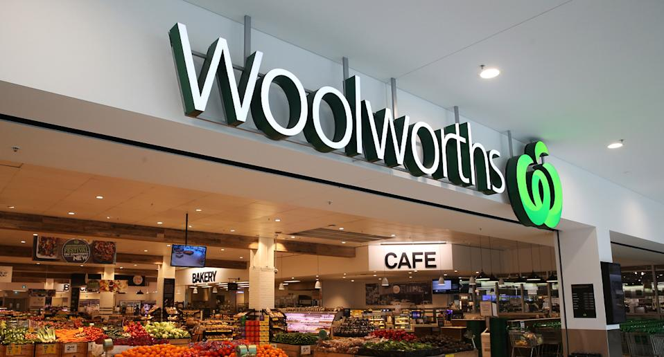 Woolworths store pictured.
