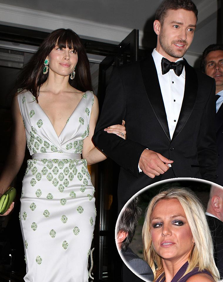 """<p class=""""MsoPlainText"""">Britney Spears """"splashed out"""" $16,000 on a """"lavish"""" wedding present for Justin Timberlake and Jessica Biel, reveals <i>Now</i>. The mag says Spears is paying for them to have """"a week's stay at a private island"""" to thank her ex """"for always being there for her."""" For what Timberlake really thinks of Spears' over-the-top gift, log on to <a target=""""_blank"""" href=""""http://www.gossipcop.com/britney-spears-bought-justin-timberlake-wedding-present-gift-jessica-biel/"""">Gossip Cop</a>.</p>"""