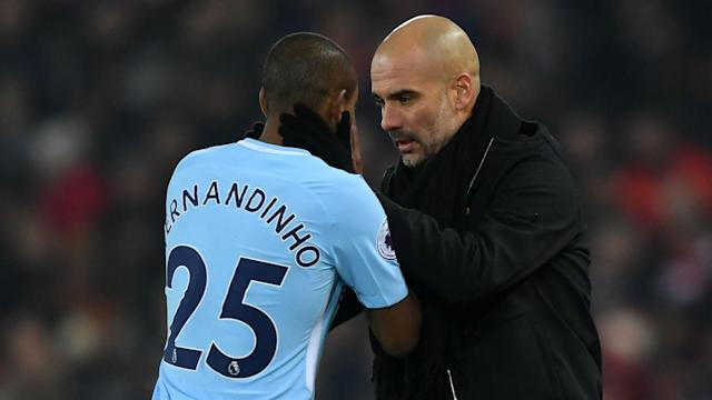 Fernandinho has been exceptional in midfield in recent seasons, but it seems his immediate future remains in Manchester City's defence.