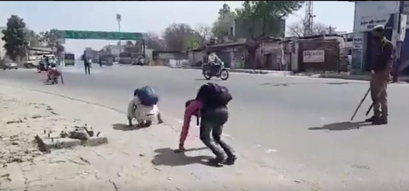 Badaun Police Chief Apologises After Video Of Migrant Workers Forced To Crawl Goes Viral