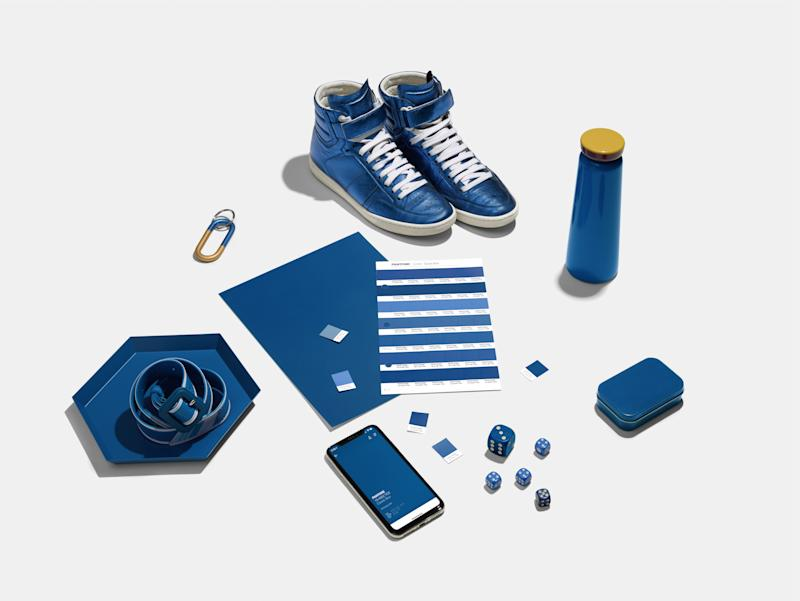 Classic Blue will inspire all areas of design in 2020, according to Pantone.
