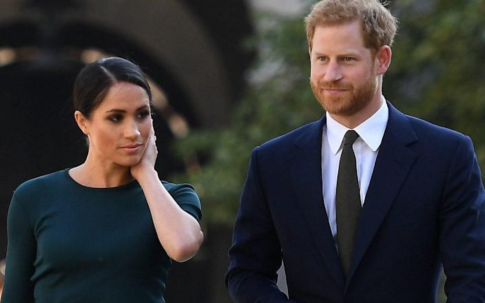 The Duke of Sussex is believed to have returned to England after taking off from Los Angeles, but the pregnant Duchess did not accompany him.
