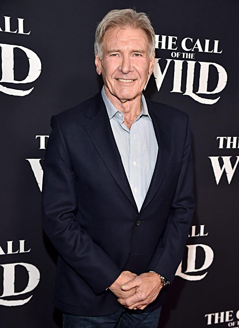 """<p>When Harrison Ford won the Cecil B. DeMille Award in 2002, he attempted to get away with a short speech, jokingly saying simply """"thank you"""" before launching into a few more words of gratitude.</p>"""