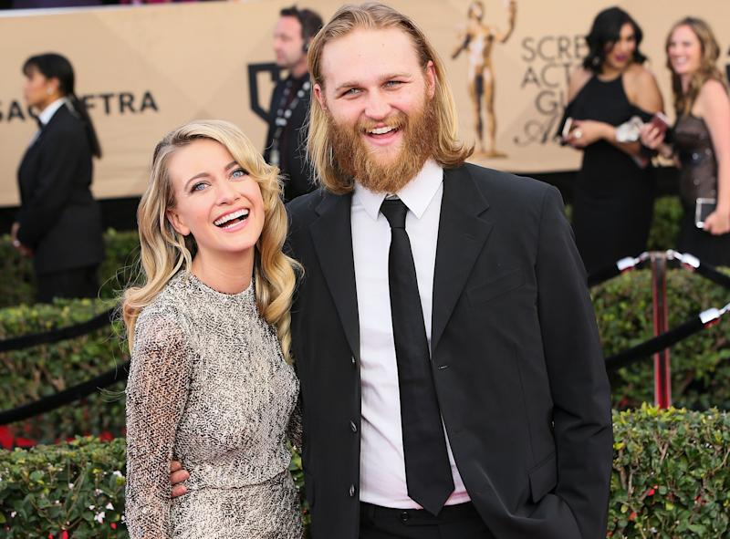 Wyatt Russell and Girlfriend Meredith Hagner Marry at His Mom Goldie Hawn's House in Aspen