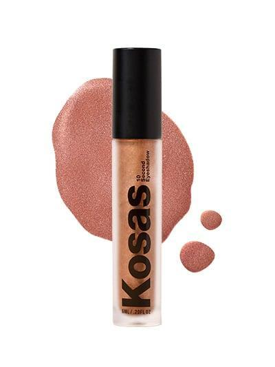 A Warm Rose Gold Shade: Kosas 10-Second Eyeshadow in Copper Halo