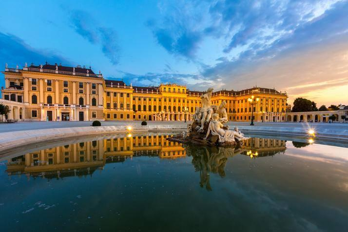 Back in time: take to the Schonbrunn Palace after the Vienna marathon (Getty)