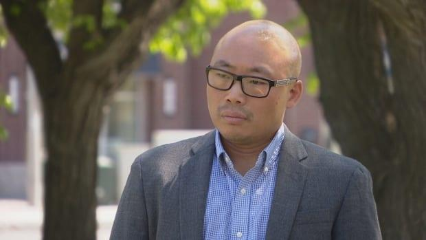 Dr. Alex Wong, infectious diseases specialist, says the variant strains spread more easily and Regina residents can't let their guard down. (CBC News - image credit)
