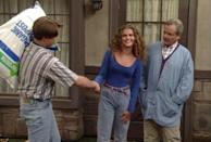 <p>Keri Russell got her big break playing Felicity in <em>Felicity</em> (that hair!), but before that, she appeared on <em>Boy Meets World</em>. Russell played Mr. Feeney's niece, who ends up having a tiny fling with Eric. And, yes, her hair looks fantastic.</p>