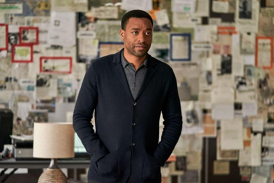 <p>Ejiofor's Copley is the ex-CIA guy who recruits Andy's team on a mission—but, as shown in the trailer, actually may have some pretty harmful intentions for the group. </p>