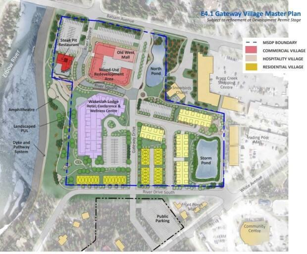 Plans for the Gateway Village include a 120-room boutique hotel, which will feature a restaurant and spa.