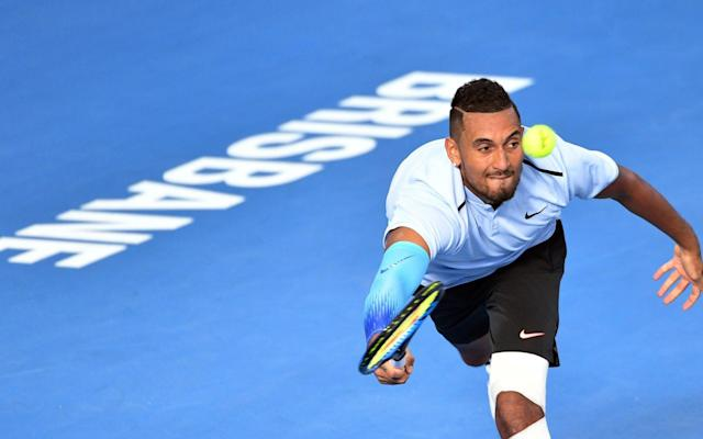 Nick Kyrgios has battled against his own hip problems - AFP