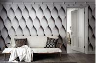 """<p>It really looks like there are carvings on the wall, but no, it's wallpaper. It would really make a statement in a living room, dining room or hallway.</p><p>'Rather than the delicate patterns you used to see on your grandma's wall, murals deliver a much more impactful presence,' says Amy Hillary at Wallsauce. 'Although the material is traditional wallpaper, murals are designed with images rather than repeating patterns.'</p><p>Pictured: Opal mural by Ella Doran, <a href=""""https://www.surfaceview.co.uk/wallpaper-murals/eld0008"""" rel=""""nofollow noopener"""" target=""""_blank"""" data-ylk=""""slk:Surface View"""" class=""""link rapid-noclick-resp"""">Surface View</a></p>"""