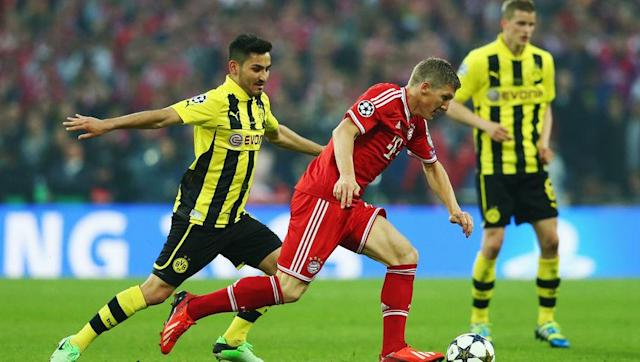 <p><strong>Teams in the quarter finals: Bayern Munich, Borussia Dortmund, Bayer Leverkusen, Schalke 04, Wolfsburg and Kaiserslautern</strong></p> <br><p>Bayern and Dortmund are both previous winners and even met in the 2013 final at Wembley. </p> <br><p>Leverkusen were finalists, while Schalke made it to the last four. However, Germany are 2nd when it comes to having the most amount of teams in the tournament (11), but the likes of Werder Bremen, Stuttgart and Hamburg have not been so successful.</p>